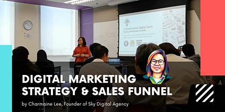1-day Digital Marketing Strategy & Sales Funnels tickets