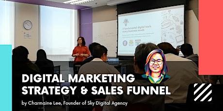 1-day Digital Marketing Strategy & Sales Funnels tickets