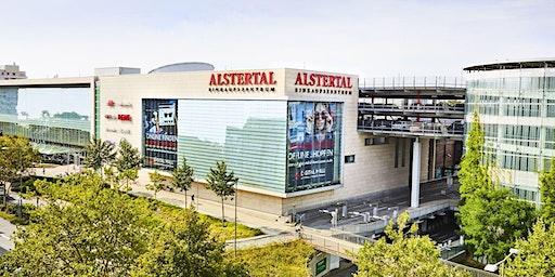 Erlebbare Zukunft im Alstertal-Einkaufszentrum – Ausstellung visionärer Com