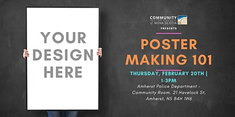Poster Making 101 - AMHERST tickets