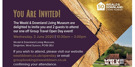 Group Travel Open Day - Weald & Downland Living Museum  tickets