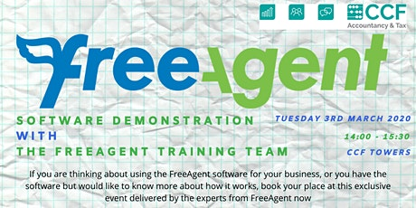 FreeAgent Training tickets
