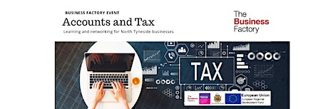 Dealing with Accounts and Tax | Wednesday 19th February at 1.30pm tickets