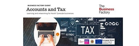 Dealing with Accounts and Tax   Wednesday 19th February at 1.30pm