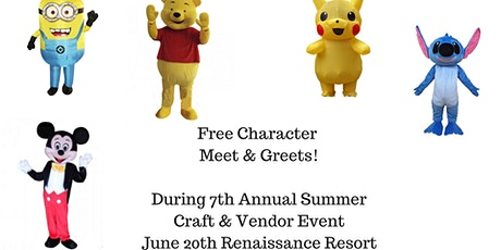 Free Character Meet & Greets tickets