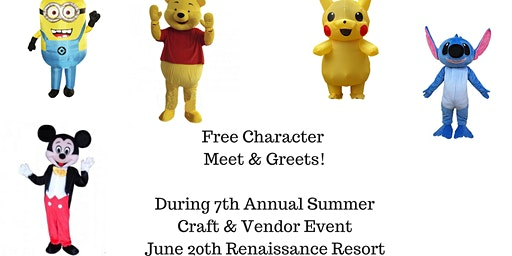Free Character Meet & Greets