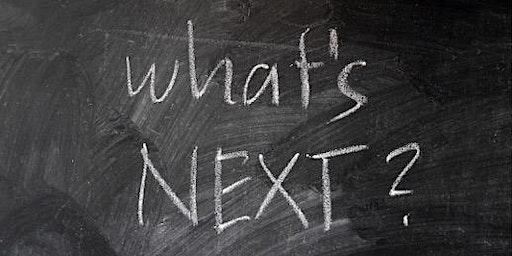 what's NEXT ?  Erkenne neue Chancen und finde Deinen Weg   I