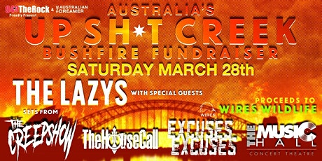 CANCELLED - UP SH*T CREEK Bushfire Fundraiser tickets
