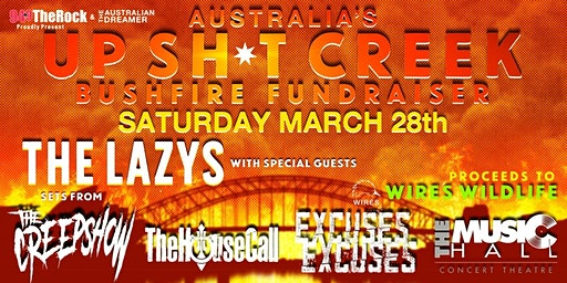 UP SH*T CREEK Bushfire Fundraiser  **SOLD OUT**