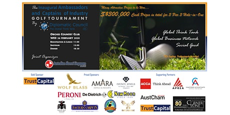 The Inaugural Ambassadors and Captains of Industry Golf Tournament tickets