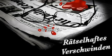 """Schnüffel-Kriminalfall """"Rätselhaftes Verschwinden"""" am 01.03.2020 Tickets"""