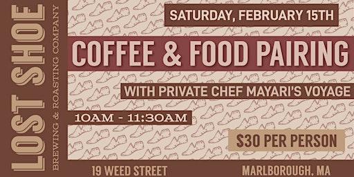 Coffee and Food Pairing with Mayari's Voyage