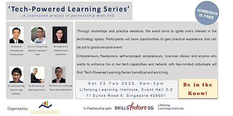 Tech-Powered Learning Series (a Learnzone project in partnership with SSG) tickets