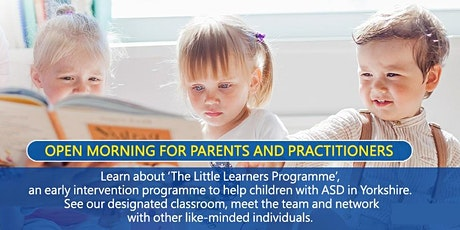 The Little Learners Programme Open Morning tickets