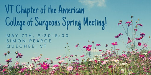 VT Chap. American College of Surgeons Spring Mtg.