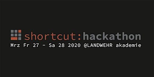 shortcut: hackathon