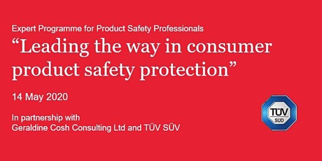 Expert Program for Product Safety Professionals tickets