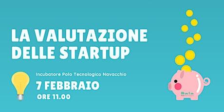 La valutazione delle startup. Seminario d'approfondimento con Mario Bartolini  biglietti