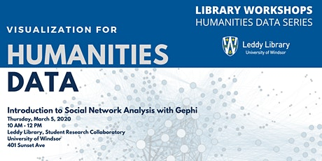 Humanities Data Workshop #5: Intro to Social Network Analysis with Gephi tickets