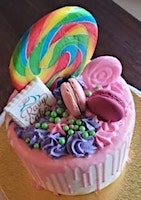 Fondant Drip Cake Class at Fran's Cake and Candy Supplies