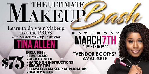 THE ULTIMATE MAKEUP BASH