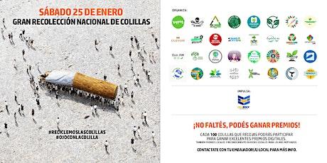Gran Recolección Nacional de Colillas - Mendoza entradas