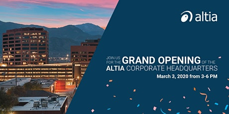 Altia Grand Opening  tickets