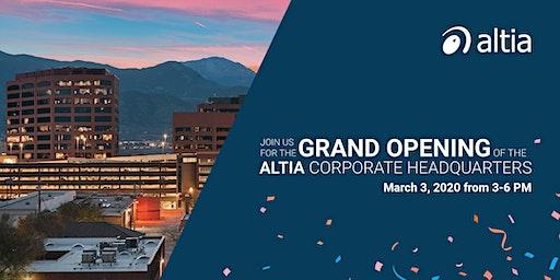 Altia Grand Opening