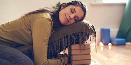 Friday night Chilll series-Restorative Yoga & Mindfulness  tickets