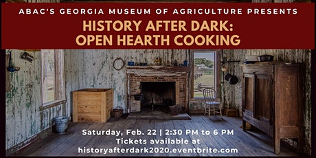 History After Dark: Open Hearth Cooking tickets