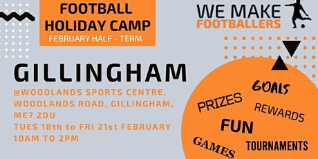 We Make Footballers Medway - February Half Term Camp tickets