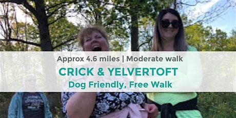 CRICK & YELVERTOFT MINI MOUNTAIN HIKE |  4.6 MILES | MODERATE | NORTHANTS tickets