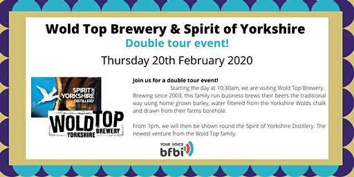 BFBi Wold Top Brewery & Spirit of Yorkshire Distillery Tour