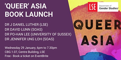 'Queer' Asia Book Launch tickets