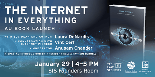 The Internet in Everything Book Tour at American University