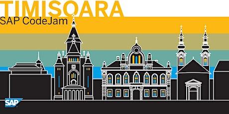 SAP CodeJam Timisoara tickets