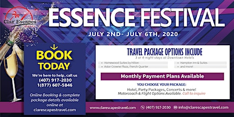 NEWEssence Festival 2020 Hotel, Concert and Party Packages Available tickets