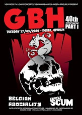 GBH (uk) + Support // Nosta, Opwijk tickets