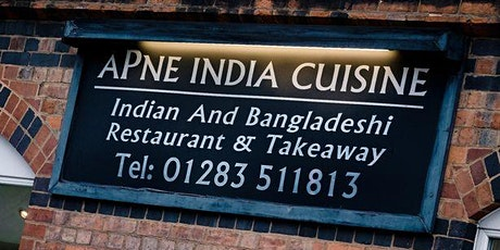 Burton Professional Network CURRY CLUB! - Apne - Wednesday 1st July 2020 tickets