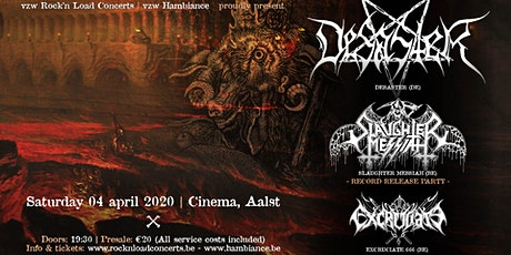 DESASTER (ger) + Supports // CInema, Aalst tickets