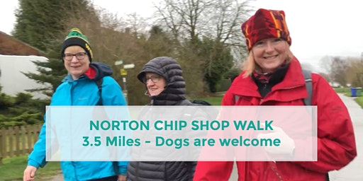 NORTON CHIP SHOP WALK | 3.5 MILES | MODERATE | NORTHANTS