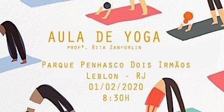 Aula de Yoga + Café da Manhã da Cozinha Equilibrada ingressos