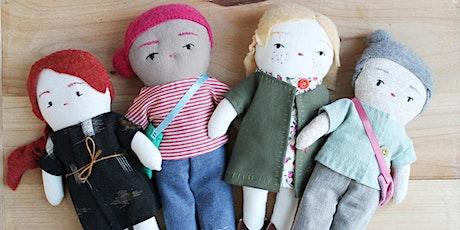 Cours de couture de poupée de chiffon billets