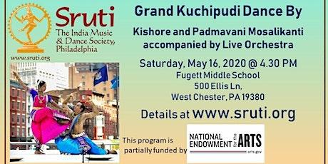 Jaikishore and Padmavani Mosalikanti - Grand Indian Kuchipudi Dance tickets