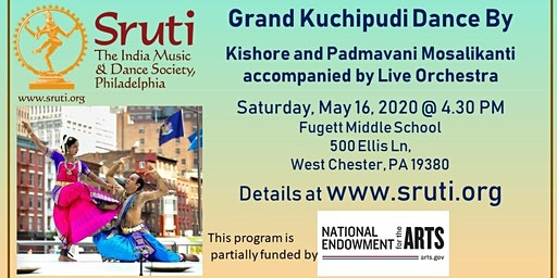 Jaikishore and Padmavani Mosalikanti - Grand Indian Kuchipudi Dance