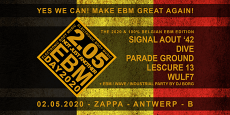 Belgian EBM day 2020 tickets