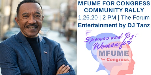 Mfume for Congress Community Rally
