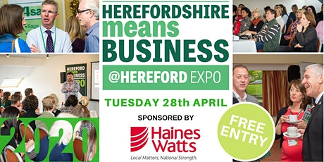 Hereford Means Business Expo 2020 Visitor Ticket tickets