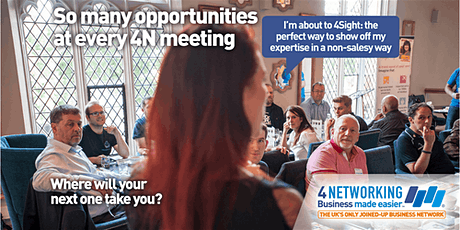 4N Barnsley Breakfast Business Networking tickets