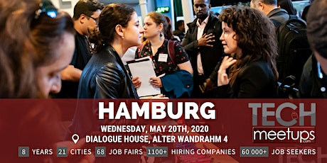 Hamburg Tech Job Fair Spring 2020 by Techmeetups tickets